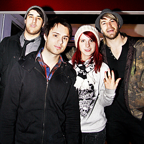 band, hayley williams, jeremy davis, josh farro, paramore, zac farro