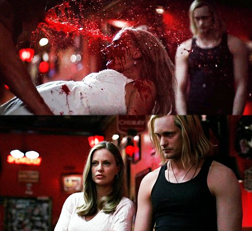 blood, eric northman, fangtasia, lol, pam