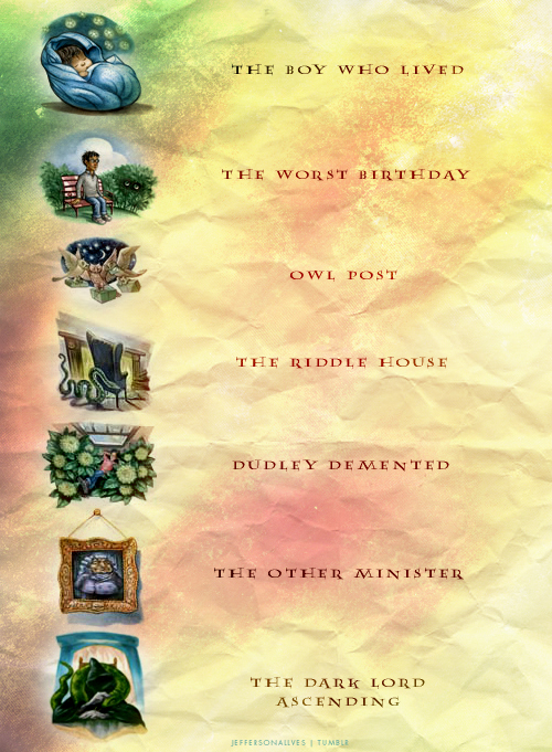 book covers, chapter, harry potter, jk rowling