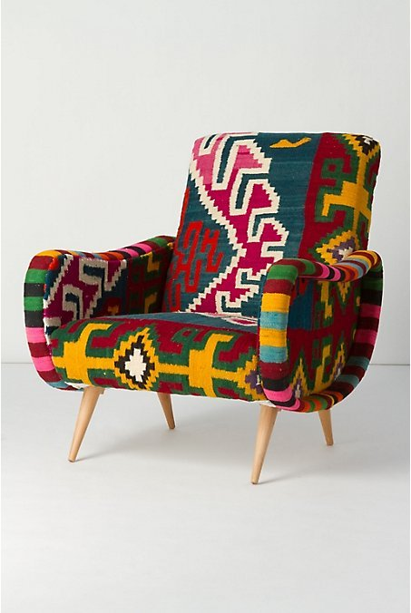 chair, colorful, ethnic, furniture, patternation