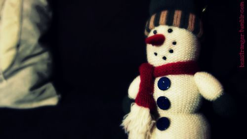 christmas, cute, snow, snowman, winter, wool