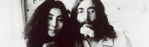couple, john lennon, love, yoko ono