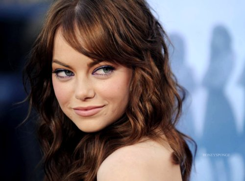 emma stone, fashion, hair, pretty