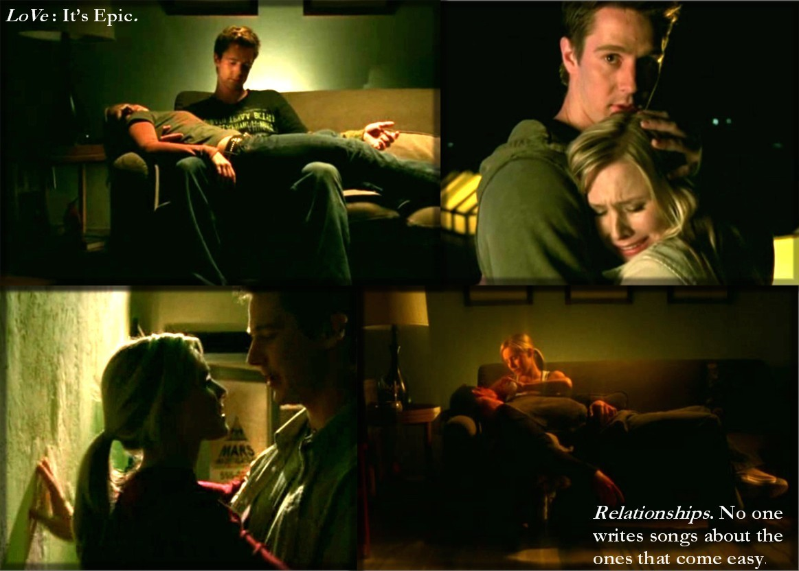 epic love, logan, veronica, veronica mars