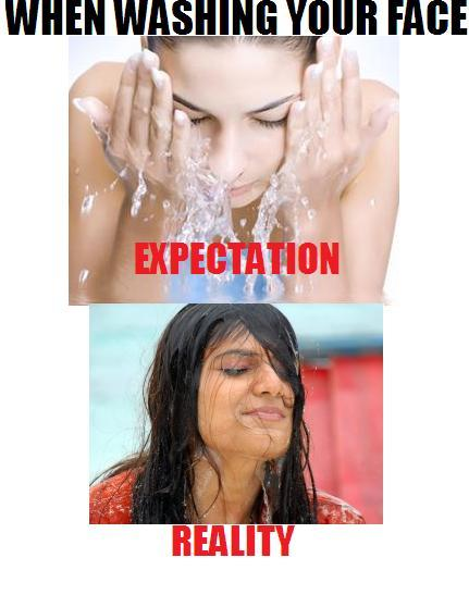 expectation, face, funny, reality