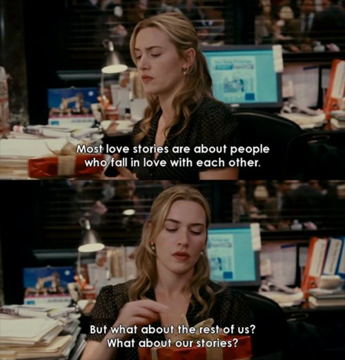 fall in love, iris, kate winslet, love, love stories