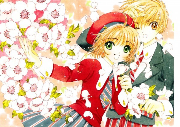 flowers, kawaii, sakura, sakura card captors, shoran