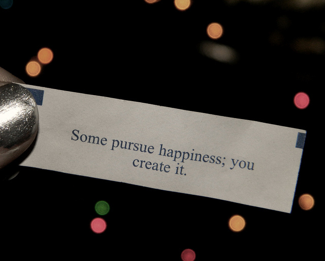 fortune cookie, happiness, photography, quote, silver