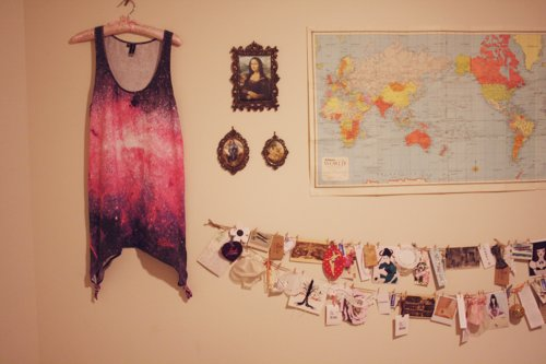 frame, girl, map, photography, picture