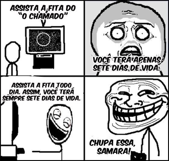 funny, o chamado, troll face