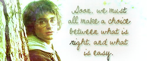 goblet of fire, harry potter, quotes, the end