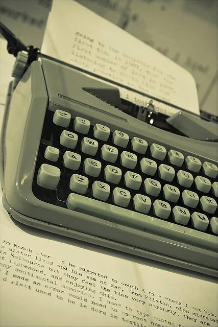 journalism, old, retro, type, typing