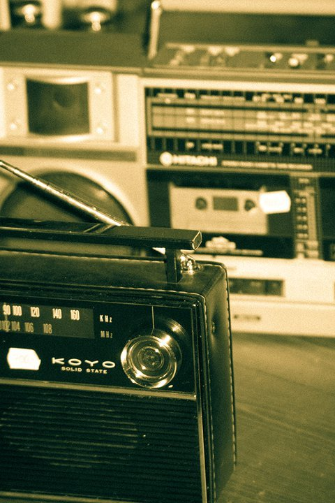 music, radio, retro, stereo, vintage