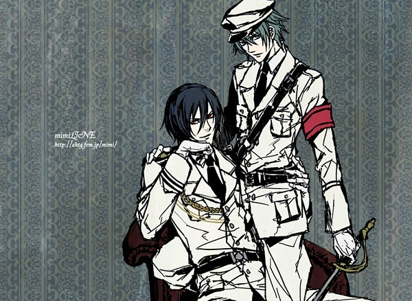 anime, boys, manga, military, shounen ai