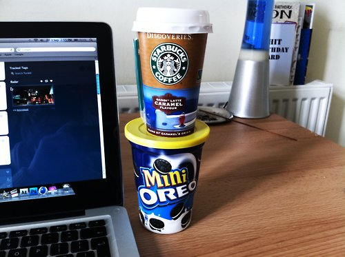 apple, coffee, macbook, mini, oreo, starbucks