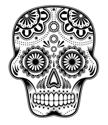 Mexican Skull Art Tumblr