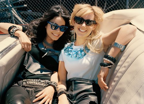 ashley tisdale, elle magazine, photoshoot, vanessa hudgens