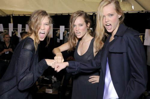 backstage, beautiful, black, fashion, frida gustavsson