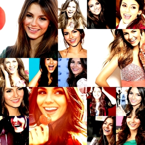 beautiful, brunette, girl, ohlalaa, smile, victoria justice
