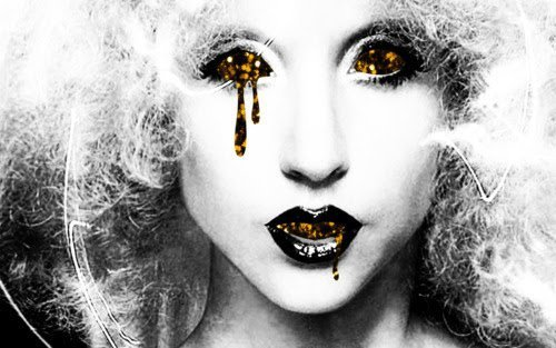 black and white, boy, diva, dress, girl, glam, glitter, horror, lady gaga, monster, rolling stone, sponge, sponge bob, woman