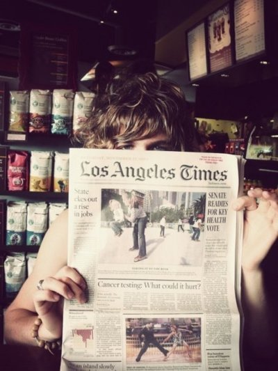 boy, cute, hair, los angeles, los angeles times