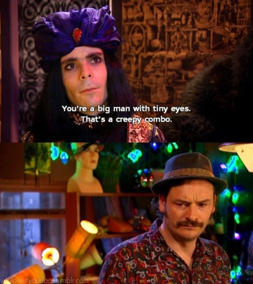 caption, funny, howard moon, mighty boosh, naboo