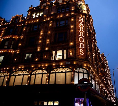 chic, harrods, london