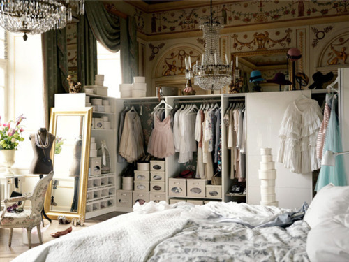 closet, clothes, cute, room