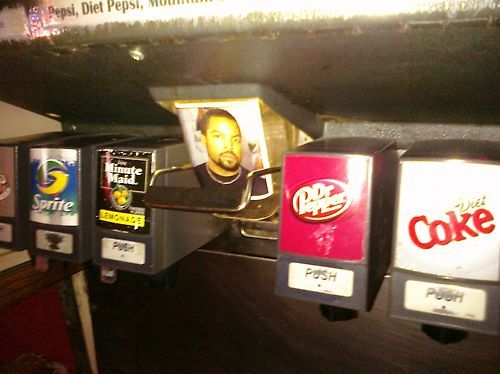coke, diet coke, dr pepper, drink, fountain, funny, ice cube, lol, minute made, pop, pop machine, push, soda, soft drink, sprite, yum