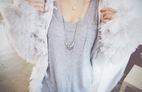 cute, fashion, fluffy, gray, grey
