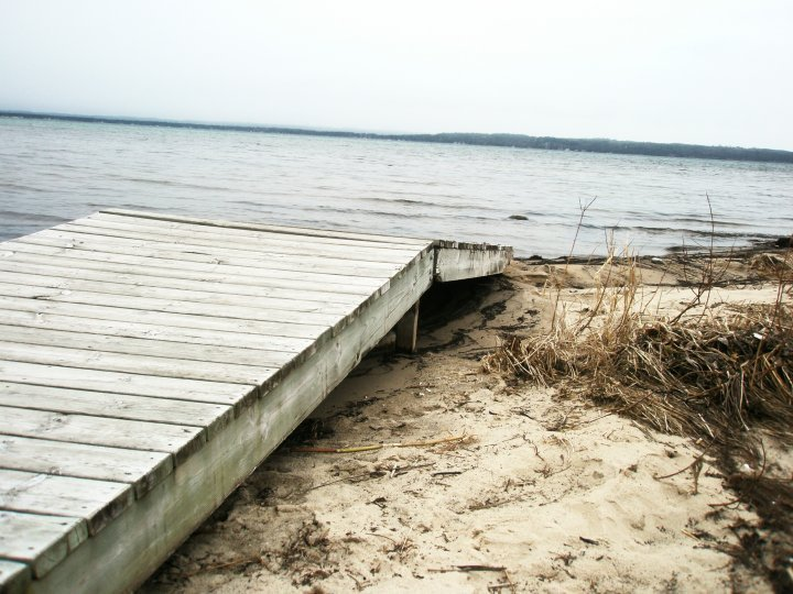 deck, dock, lake, water