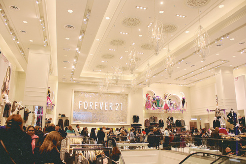 fashion, forever 21, new york