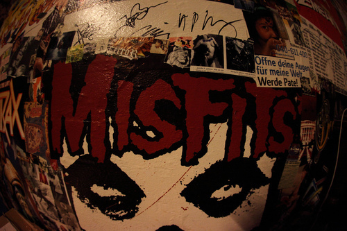 fisheye, gsayour, misfits, the misfits