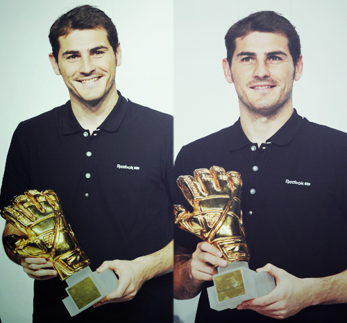 golden glove, iker casillas, real madrid, spain