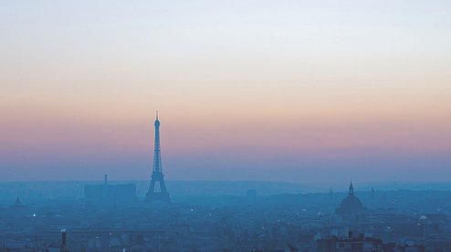paris, photography, sunset