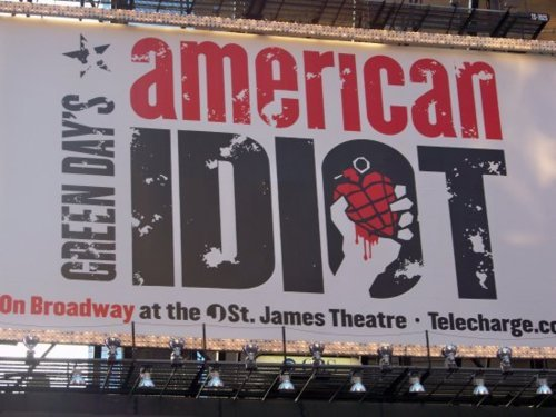 american idiot, broadway, green day, new york, nyc