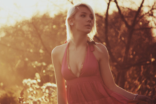 angiua26, blonde, dress, fashion, hair