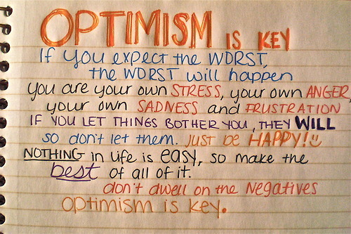 awesome, key, optimism, text