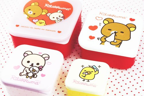 box, cute, kawaii, rilakkuma