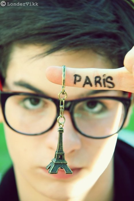 boy, cool, cute, eiffel tower, europe