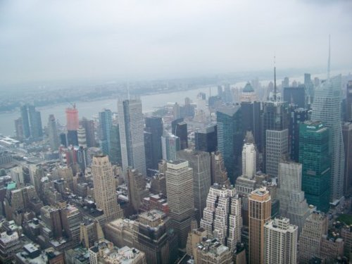 building, city, empire state building, new york, nyc