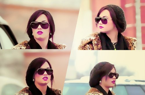 butt chin, buttchin, demi, demi lovato, lips, lovato, make up, rehab, sunglasses