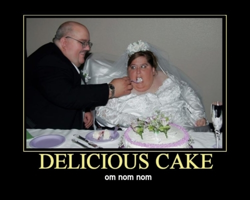 Cake Delicious Funny Hot Kkk