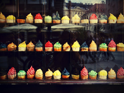 colors, colours, cupcake, cupcakes