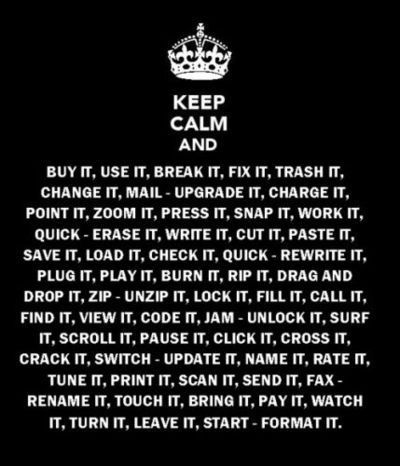 daft punk, keep calm, technologic