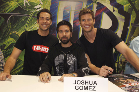 #savechuck, comic con, joshua gomez, ryan mcpartlin, zachary levi