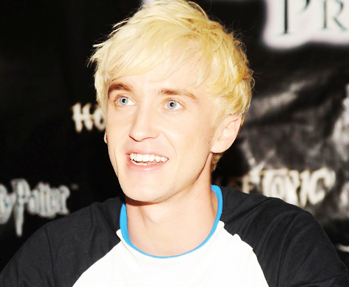 actor, draco malfoy, guy, harry potter series, hot, love, model, musician, tom felton