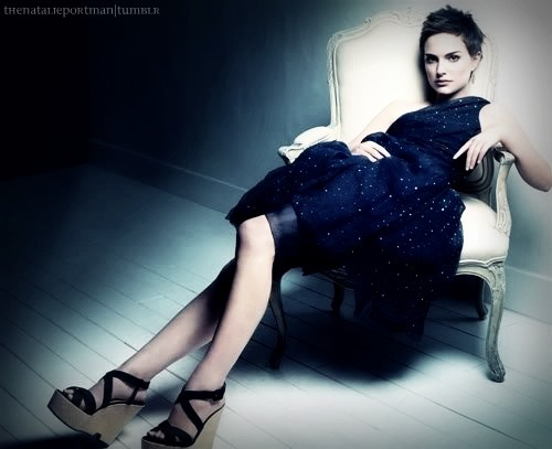 actress, beautiful, blue, classy, elegant, natalie portman, pretty, short hair