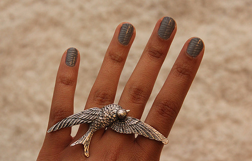 aguia, fingers, nail polish, nails, rings