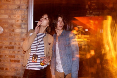 alex turner, alexa chung, comme des garcons, love, party, smoking